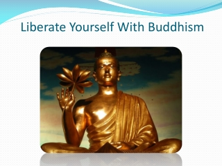 Liberate Yourself With Buddhism
