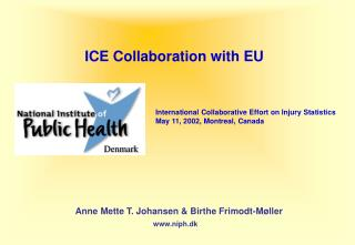 ICE Collaboration with EU