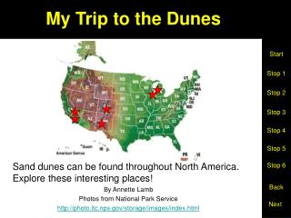 My Trip to the Dunes