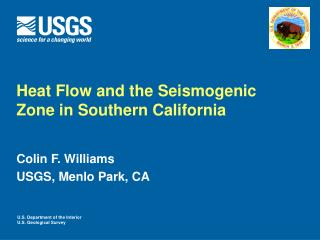 Heat Flow and the Seismogenic Zone in Southern California