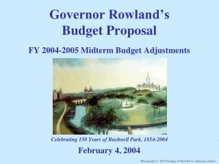 FY 2004-2005 Midterm Budget Adjustments