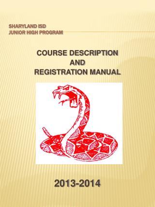 Sharyland ISD Junior High Program