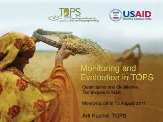 Monitoring and Evaluation in TOPS
