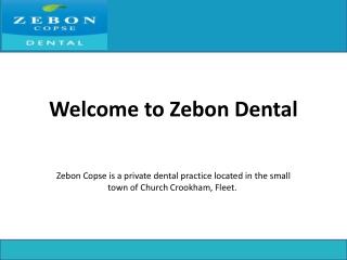 Dentists in Fleet Hampshire UK