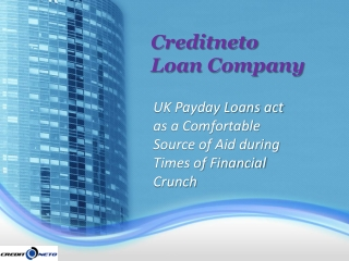UK Payday Loans act as a Comfortable Source of Aid during Ti