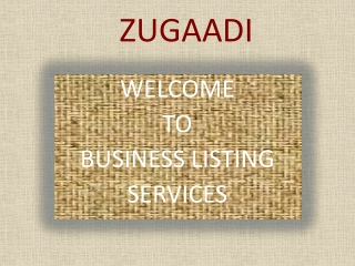 Business Directories India
