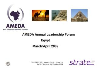 AMEDA Annual Leadership Forum Egypt March/April 2009