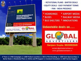 Best Outdoor Advertising Media Services - Global Advertisers