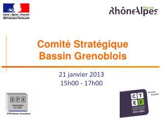 Comité Stratégique Bassin Grenoblois
