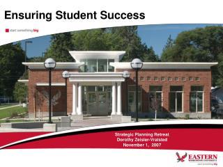 Ensuring Student Success