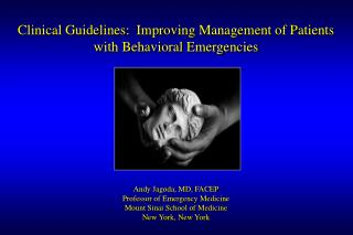 clinical guidelines: improving management of patients with ...