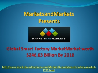 Global Smart Factory Market By 2018