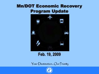 Mn/DOT Economic Recovery Program Update
