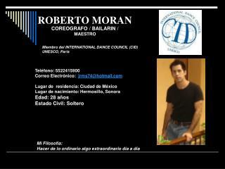 ROBERTO MORAN