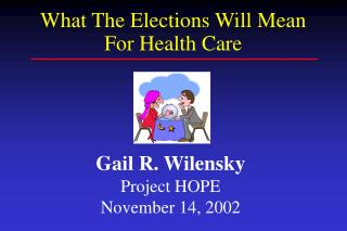 Gail R. Wilensky Project HOPE November 14, 2002