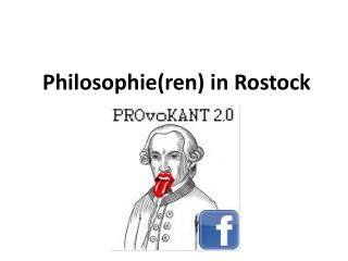 Philosophie( ren ) in Rostock