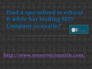 Find A specialized in ethical