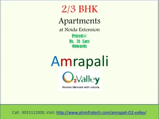 Property In Noida Extension Amrapali O2 Valley Flats