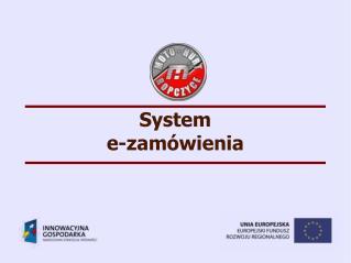 System e-zamówienia