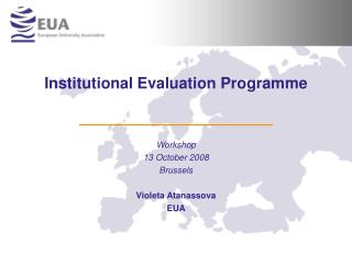 Institutional Evaluation Programme