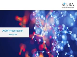 AGM Presentation June 2019