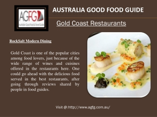 Look for the Best Gold Coast Restaurants