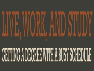 Enroll in Degree program with Flexible Schedule
