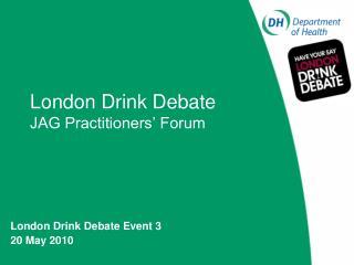 Matthew Andrews Regional Alcohol Manager Regional Public Health Group - London