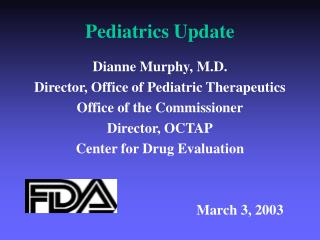 Pediatrics Update