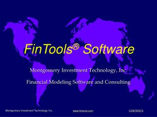 FinTools ®  Software