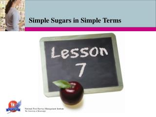 Simple Sugars in Simple Terms