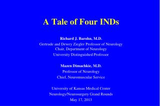 A Tale of Four INDs
