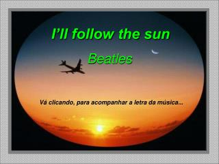 I'll follow the sun Beatles