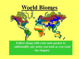 World Biomes