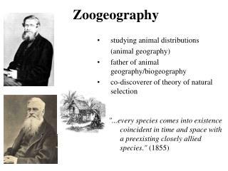 Zoogeography