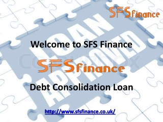 SFSfinance - Debt consolidation Loan