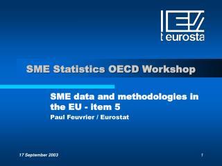 SME Statistics OECD Workshop