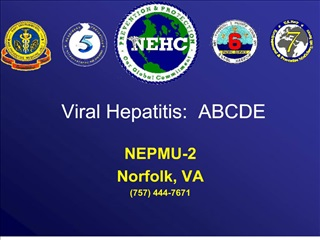 viral hepatitis:  abcde