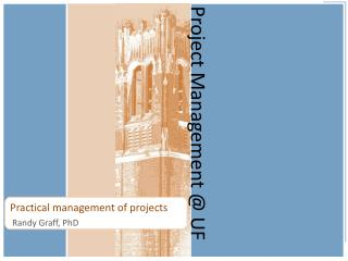 Project Management @ UF