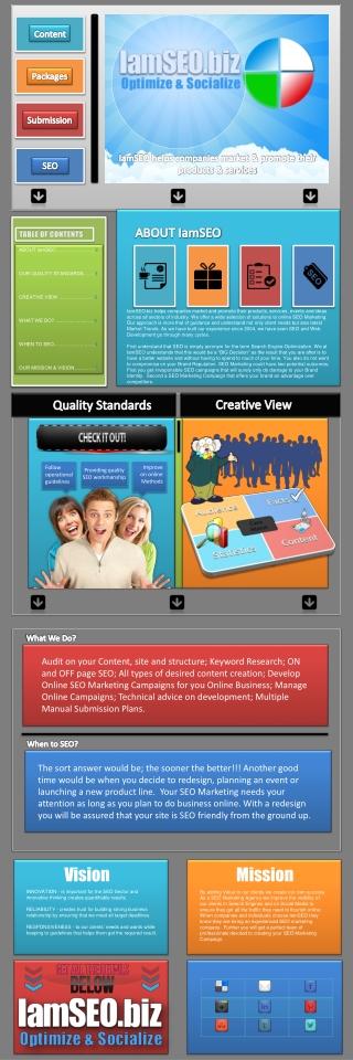 About IamSEO | SEO Marketing Company