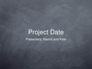 Project Date