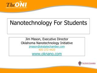 Nanotechnology For Students