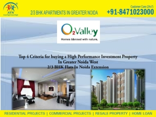 Greater Noida West best place to investment in Property