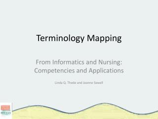 Terminology Mapping
