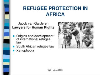 REFUGEE PROTECTION IN AFRICA