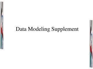 Data Modeling Supplement