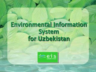 Environmental Information System for Uzbekistan