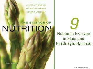 Nutrients Involved in Fluid and Electrolyte Balance