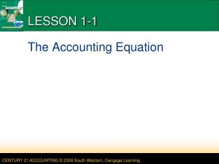 LESSON 1-1
