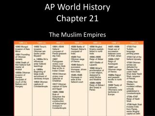 AP World History Chapter 21